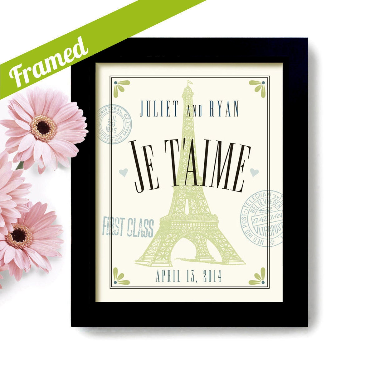 French Wedding Gifts: French Decor Wedding Gift Unique Engagement Eiffel Tower