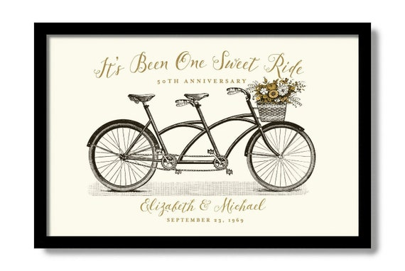 Personalized 50th Anniversary Gifts Golden Wedding Gift For Etsy