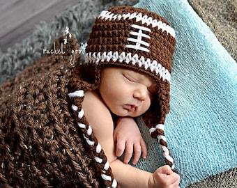 baby football hat, newborn football hat, Toddler football hat