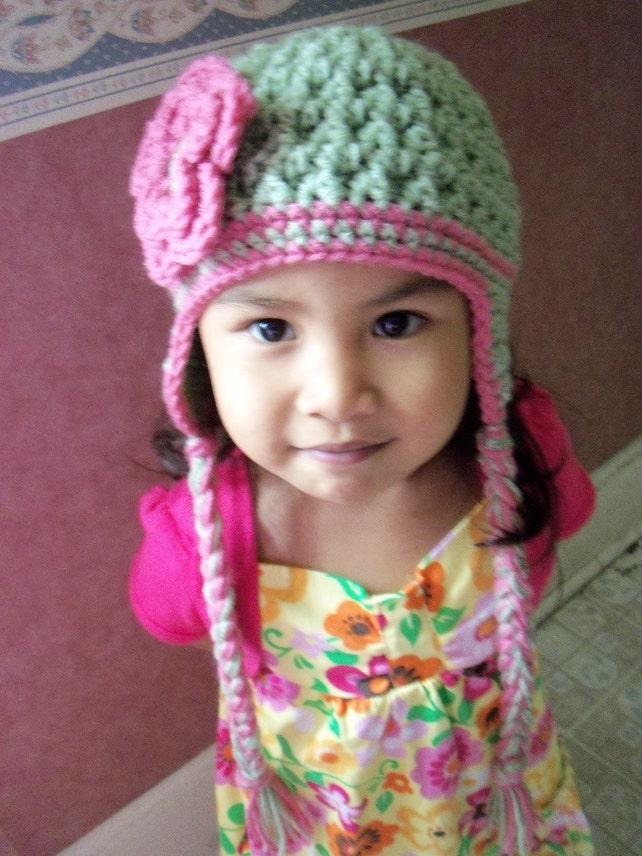 Häkeln Kinder Hut Kleinkind Hut Baby Mädchen Hut Gehäkelte | Etsy