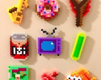 Simpsons Pixel Art Etsy