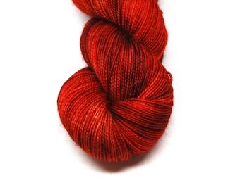 "Fingering Weight, ""What Can I Do"" Merino Wool Superwash Yarn, 4 oz, machine washable yarn"