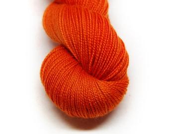"Fingering Weight, ""South Bound Suarez"" Merino Wool Superwash Yarn, 4 oz, machine washable yarn"