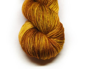 "Fingering Weight, ""Trembling Earth"" Merino Wool Superwash Yarn, 4 oz, machine washable yarn"