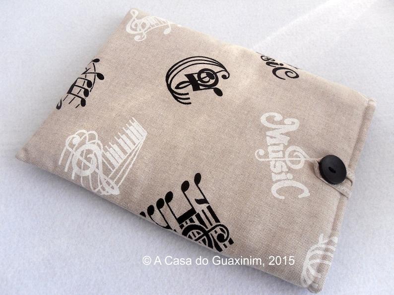 Laptop Sleeve Fabric iPad Sleeve Music Book Sleeve