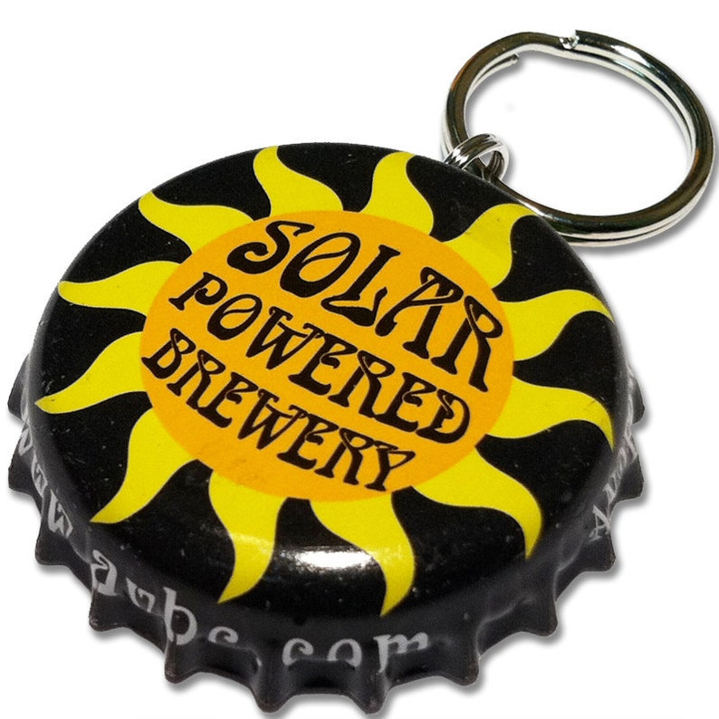 Beer Bottle Cap ID Tag  Anderson Valley Brewing image 0