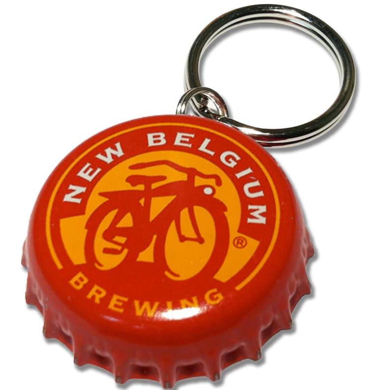 New Belgium PupCap  Bottle Cap ID Tag image 0