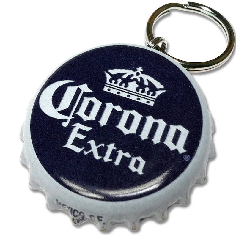 Corona Beer Bottle Cap Customizable ID Tag image 0