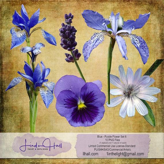 Hand painted Nike AF1 Wildflower purple