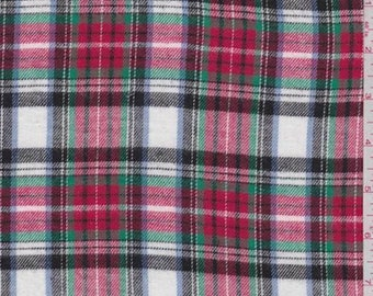 f296ce11abd9d White Multi Plaid Flannel
