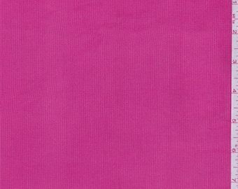 Berry Pink Stretch Corduroy, Fabric By The Yard