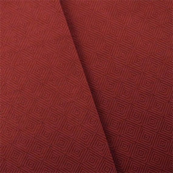 Scarlett Red Diamond Twill Home Decorating Fabric, Fabric By The Yard