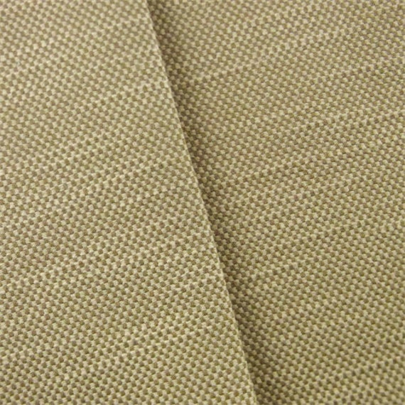 Brown/Ivory Mini Slub Checker Home Decorating Fabric Fabric | Etsy