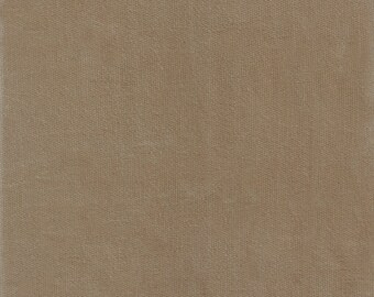 Light Brown Stretch Velvet, Fabric By The Yard