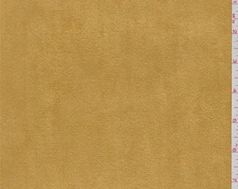 Saffron Yellow Ultrasuede Upholstery Weight, Fabric By The Yard