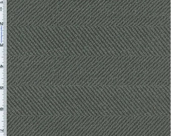 Carbon Black Herringbone Home Decorating Fabric, Fabric By The Yard