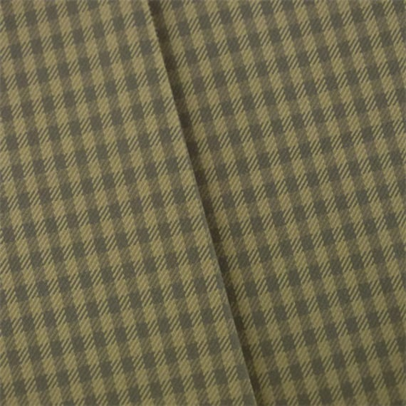 Sand Beige/Gray Gingham Twill Home Decorating Fabric Fabric | Etsy