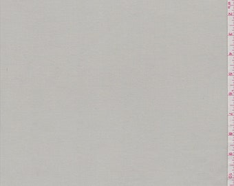 Ecru Polyester, Fabric By The Yard