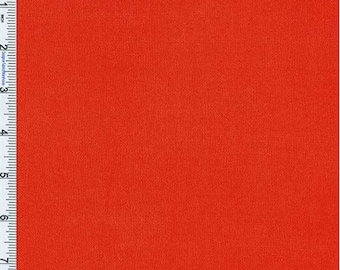 Flame Red Crepe Weave Rayon, Fabric By The Yard