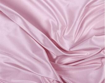 Pink Silk Taffeta, Fabric By The Yard