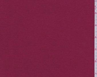 Garnet Red Modal Tencel Jersey Knit, Fabric By The Yard