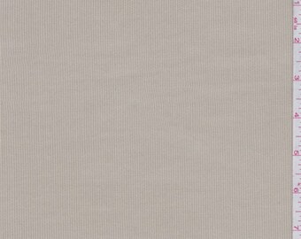 Oyster Stretch Corduroy, Fabric By The Yard
