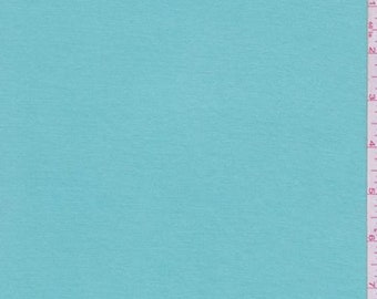 Glacier Blue Modal Tencel Jersey Knit, Fabric By The Yard