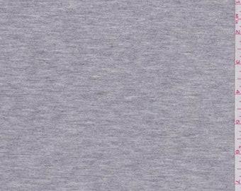 Heather Grey Modal Tencel Jersey Knit, Fabric By The Yard
