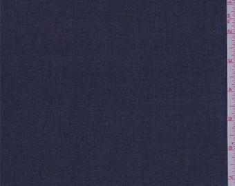 Deep Navy Chiffon, Fabric By The Yard