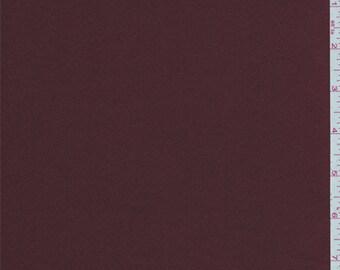 Maroon Satin, Fabric By The Yard