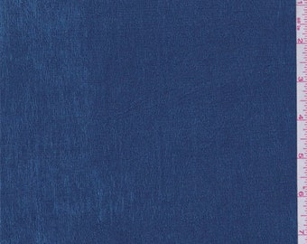 Oceanic Blue Stretch Slinky, Fabric By The Yard