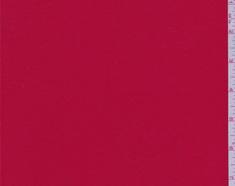 Cherry Red Modal Jersey Knit, Fabric By The Yard