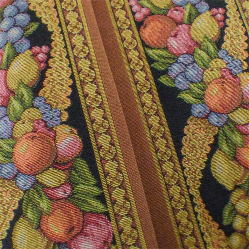 Fabric By The Yard Multi Texnova Stripe Tapestry Home Decorating Fabric