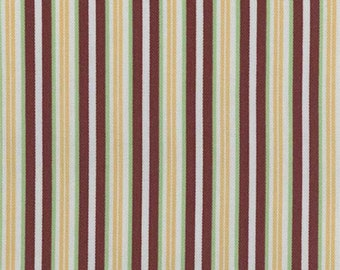Cinnabar Awning Stripe Indoor/Outdoor Fabric, Fabric By The Yard