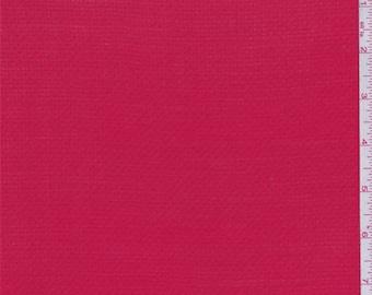 Siren Red Pindot Rayon Shirting, Fabric By The Yard