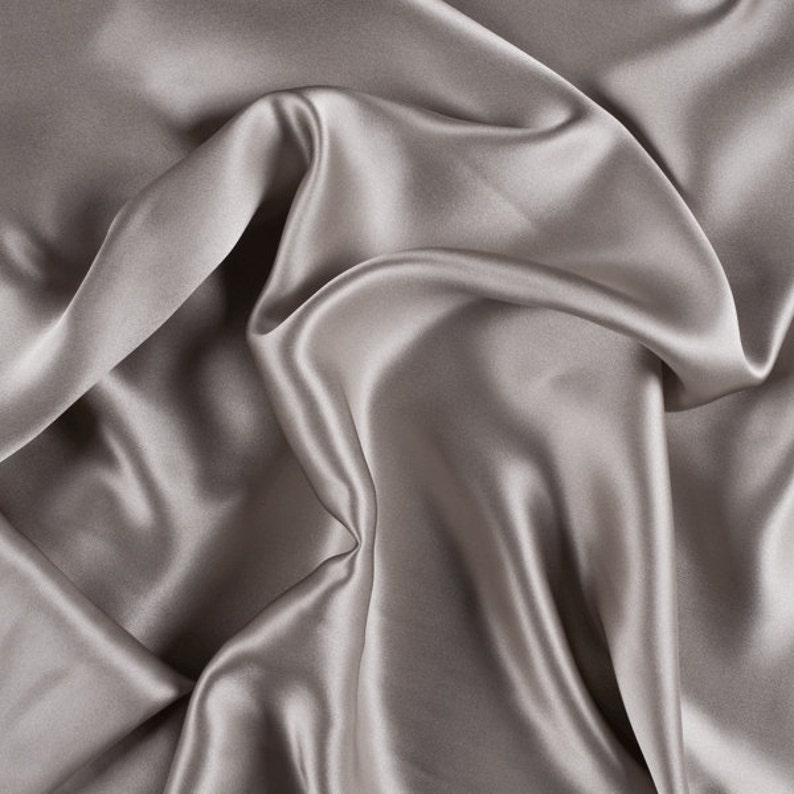 1500M112 42 Wide Stretch Silk Charmeuse Blush Pink By the Yard