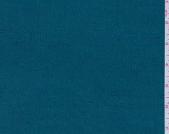 Teal Blue Stretch Corduroy, Fabric By The Yard