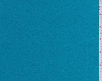 Cyan Blue Satin, Fabric By The Yard