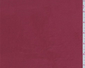 Brick Red Microsuede Knit, Fabric By The Yard