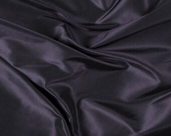 """54"""" Wide 100% Silk Taffeta Aubergine by the yard (9000MT25)"""