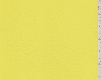 Lemon Yellow Polyester Lawn, Fabric By The Yard