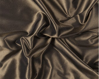 Gold Silk Taffeta, Fabric By The Yard
