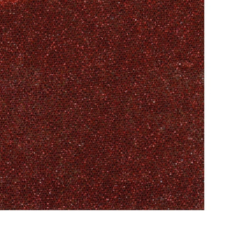 NT0104 60 Red Tulle Sparkle Fabric-20 Yards Wholesale by the Bolt