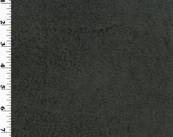 Single Sided Berber Fleece Graphite Gray, Fabric By The Yard