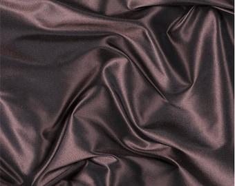 Rust Silk Taffeta, Fabric By The Yard
