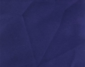 Dark Purple Double Crepe, Fabric By The Yard