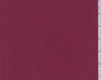 Deep Crimson Chiffon, Fabric By The Yard