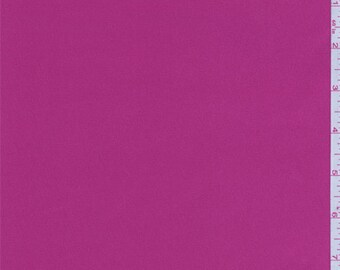 Berry Pink Stretch Satin, Fabric By The Yard