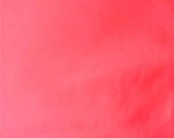 Day Glo Pink Techno Knit, Fabric By The Yard