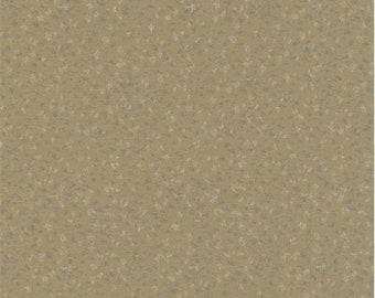 Creme Brulee Speckled Drapery Fabric, Fabric By The Yard